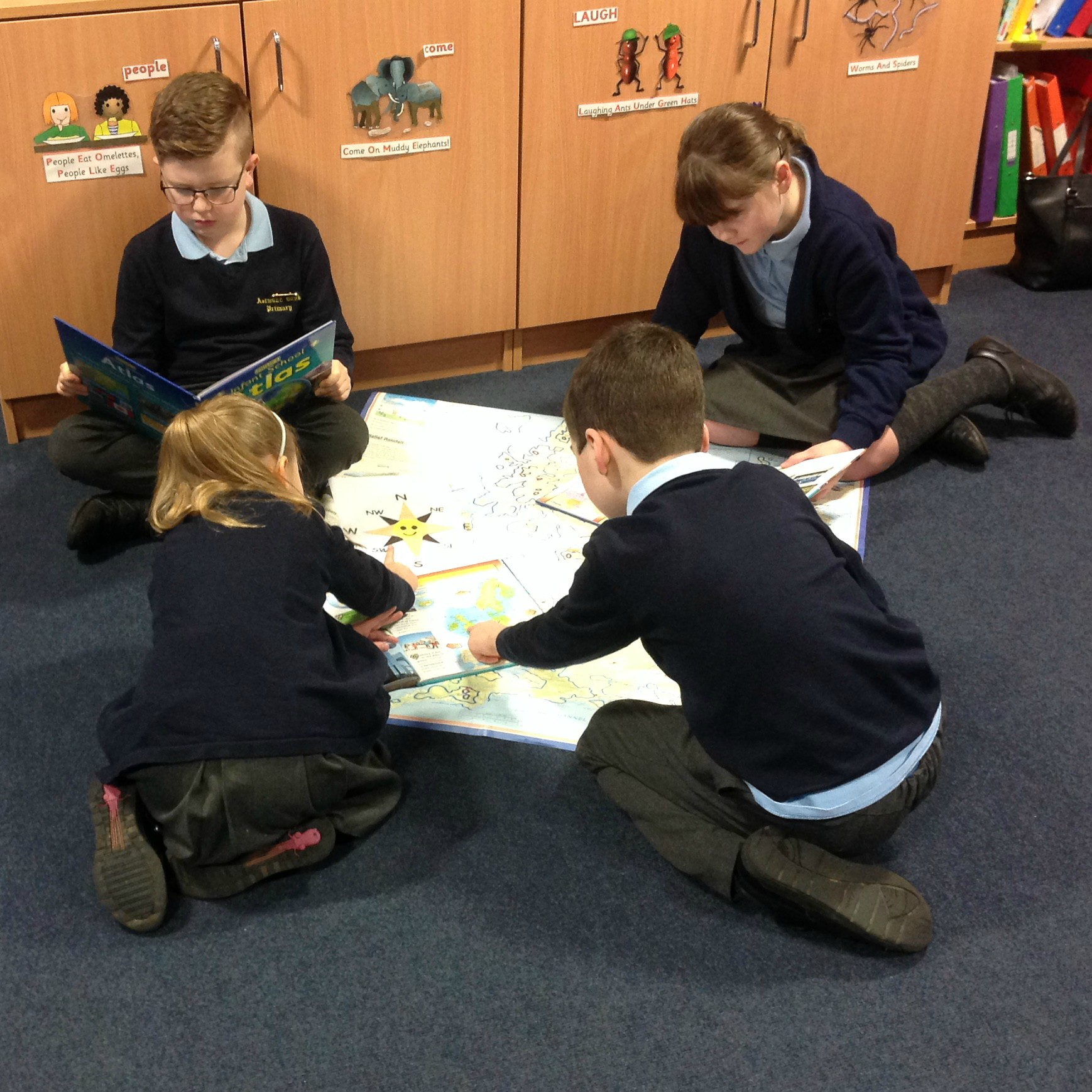 Y4 Geography - maps and mapping